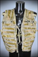 Desert MOLLE Tactical Load Vest