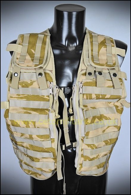 Desert Tactical Load Vest (MOLLE)