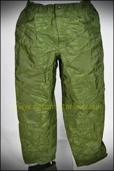 Foulweather/Waterproof Trousers, OG (Various)