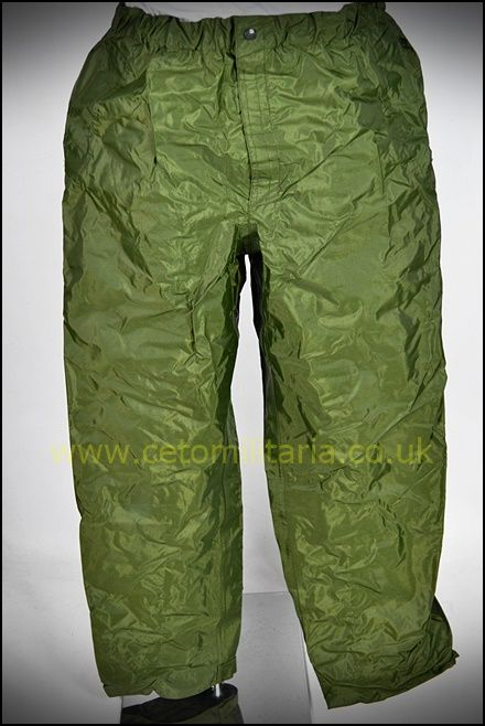 Foulweather/Waterproof Trousers, Olive Green (Various)