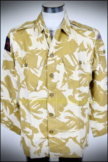 """Desert DPM Combat Shirt """"Gulf-War"""" (Various)"""