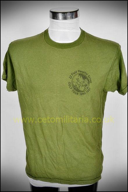T-Shirt, 22 Field Hospital Tour