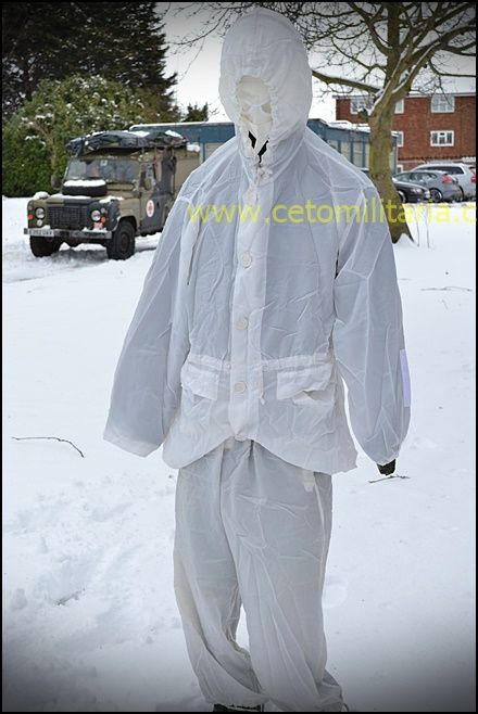 Arctic Camouflage Suit/Facemask