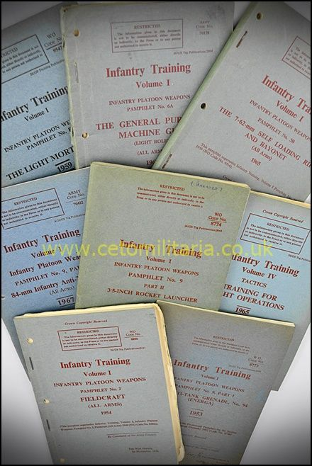 Manual, Infantry Training, 1950/60s (Various)