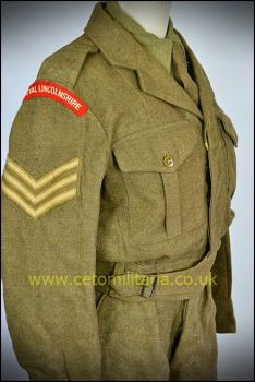 "Royal Lincs Sgt BD 1952 (35/36"")"