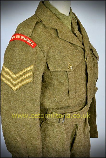 Royal Lincs Sgt BD 1952 (