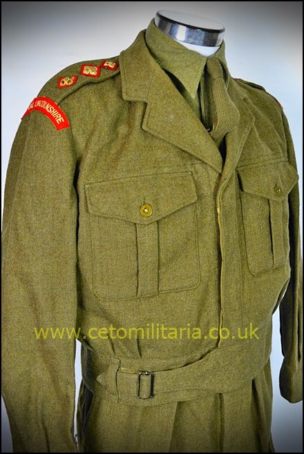 Royal Lincs Capt BD 1964 (
