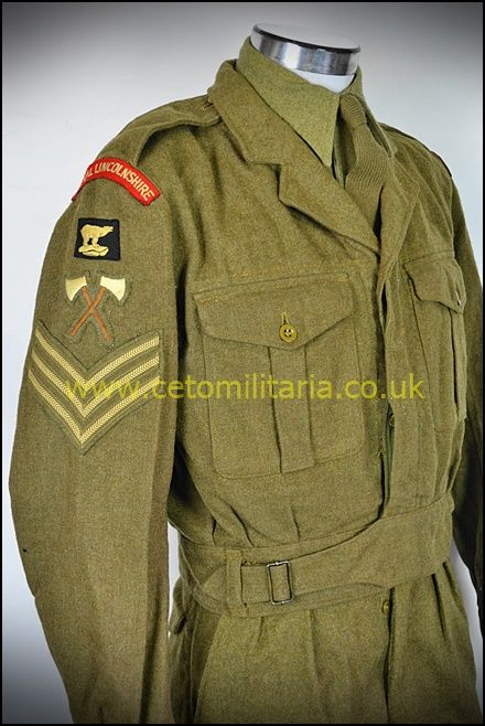 Royal Lincs Pioneer Sgt BD 1956 (