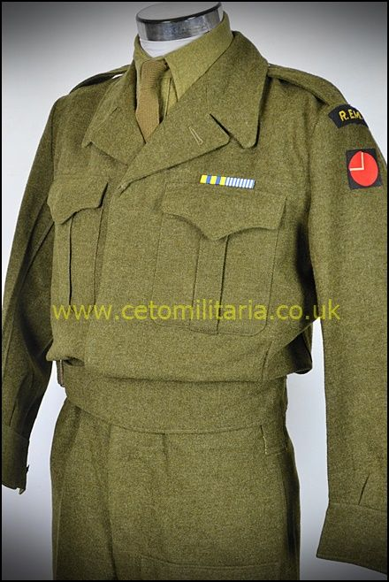 REME Officer BD 1950s (