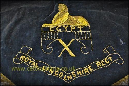 Banner, Royal Lincs Band