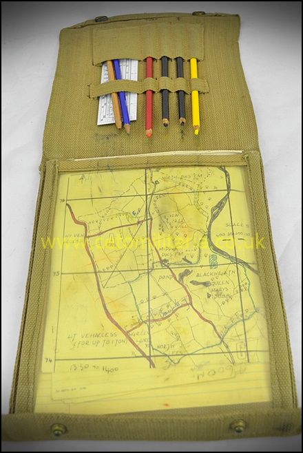 Map Case, '37 Pattern (1944)