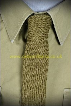 Tie, No2 Khaki (Used)