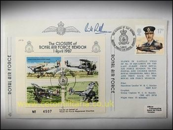 FDC - RAF Hendon Closure 1987