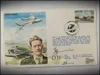 FDC - John Derry DH Test Pilot 1984