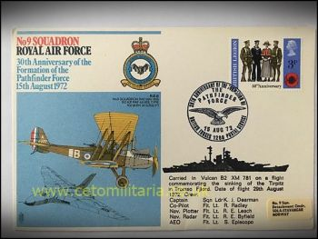 FDC - 9 Squadron 30th Annv Pathfinders 1972