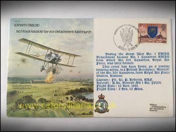 FDC - No1 RNAS Det. Eastchurch 1981