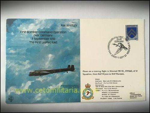 FDC - 1st Leaflet Raid 1939, 1983