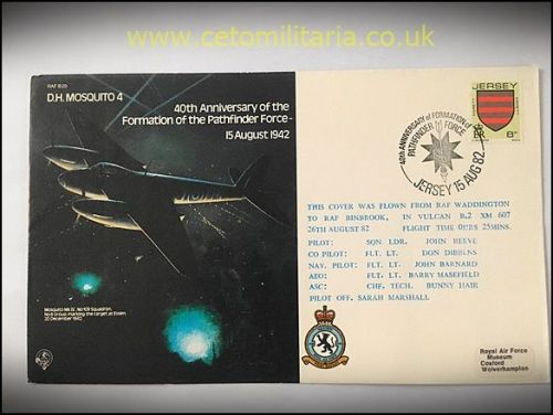 FDC - 40th Annv Pathfinders 1982