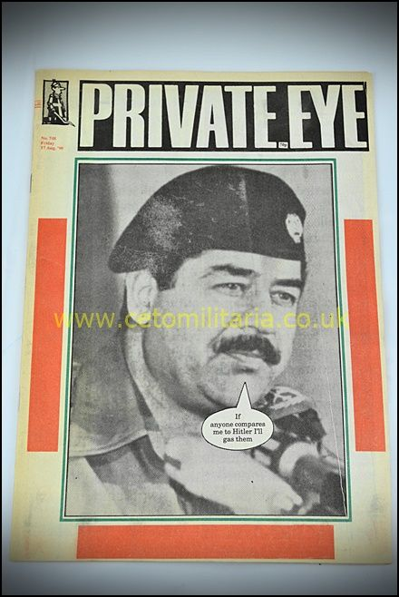 Private Eye - Saddam Gulf War 1990