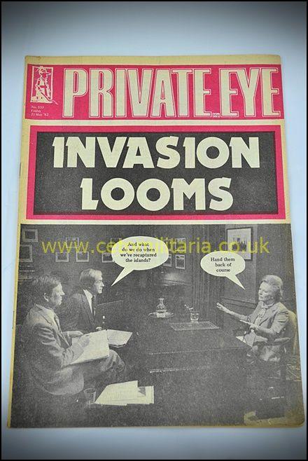 Private Eye - Falklands Buildup 1982