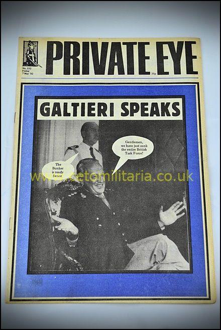 Private Eye - Falklands Galtieri 1982
