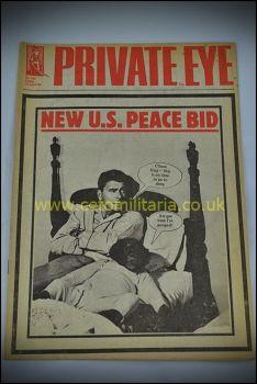 Private Eye - Falklands US Peace Bid