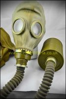 Soviet Respirator c/w bag