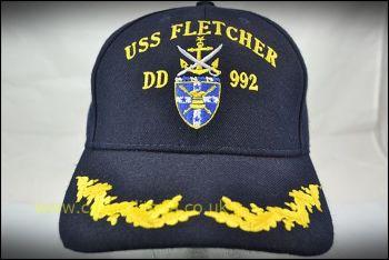 Cap, USS Fletcher