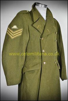 "Greatcoat, RA Sgt KC 1955 (37/40"")"