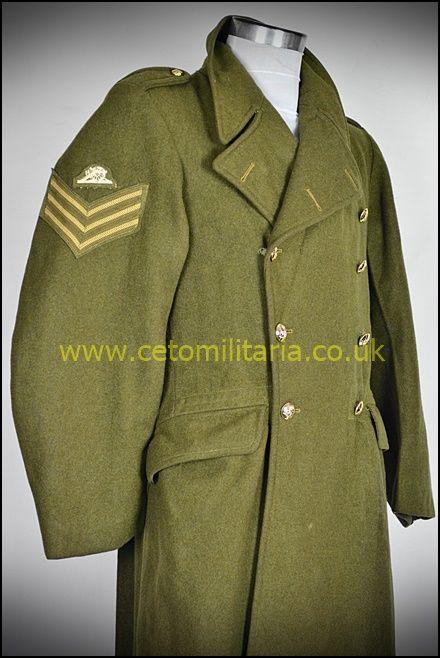 Greatcoat, RA Sgt KC 1955 (