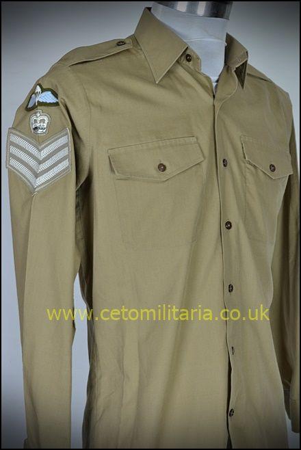 No2 Shirt, Khaki, SSM Para (