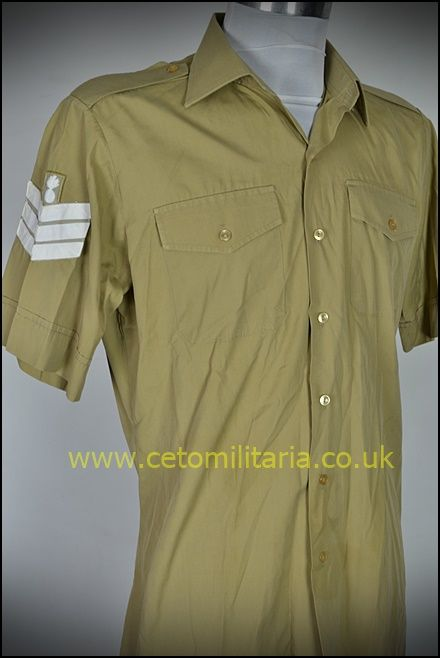 No2 Shirt, Khaki, RA Sgt (16