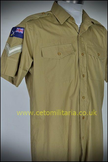 No2 Shirt, Khaki, RCT L/Cpl (15