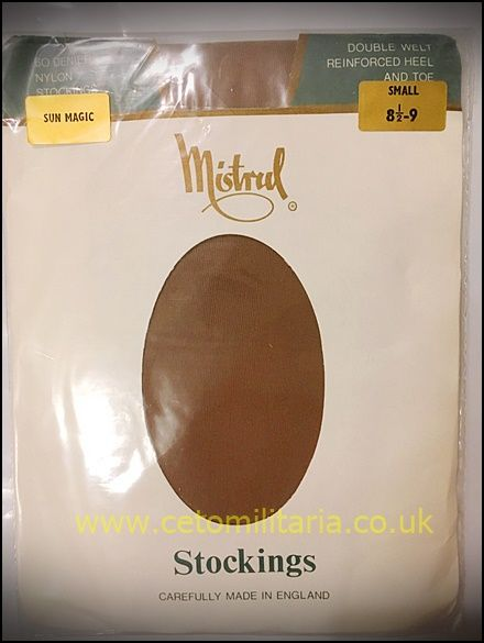 Mistral 60D SunMagic RHT Nylon Stockings (8.5/9)