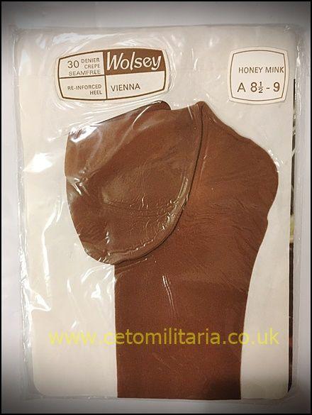 Wolsey Vienna 30D Crepe RH Stockings (8.5/9)