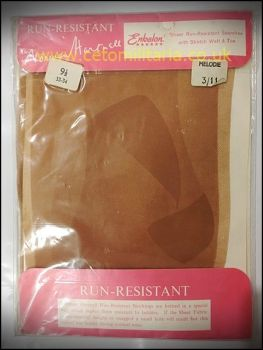 Norman Hartnell Run-Resist Stockings (9.5)