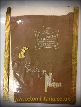 Plaza Sheer Charm Silk Stockings (10)