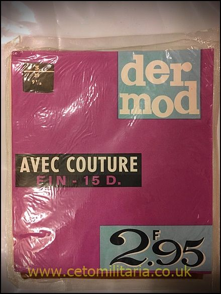 Der Mod, Avec Couture, 15D French Stockings (9.5)