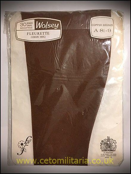 Wolsey Fleurette 30D Stockings (8.5/9)