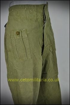 "Denim BD Trousers, 1950 (to 36"")"