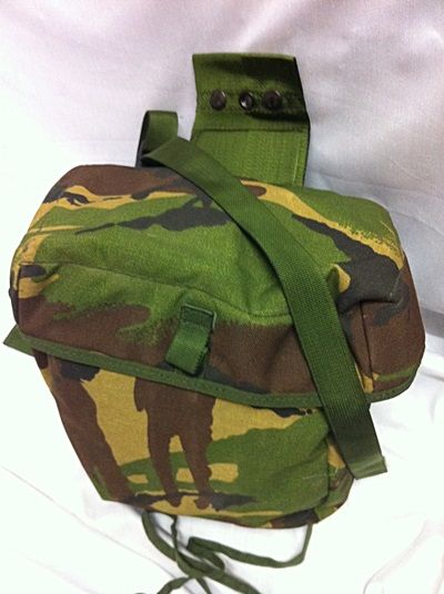 Respirator Haversack / Bag, S10, DPM IRR
