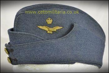 RAF Cap, Side - Officer 1940s (56/58cm)