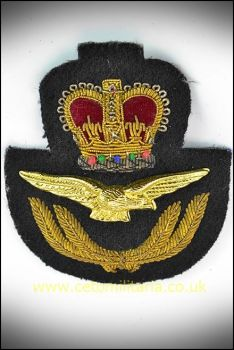 RAF Cap Badge, Officer, QC