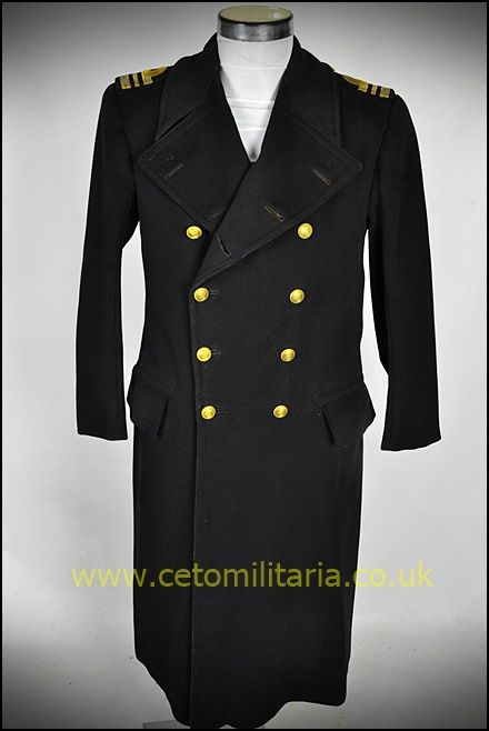 RN Greatcoat, LtCdr 1942 (