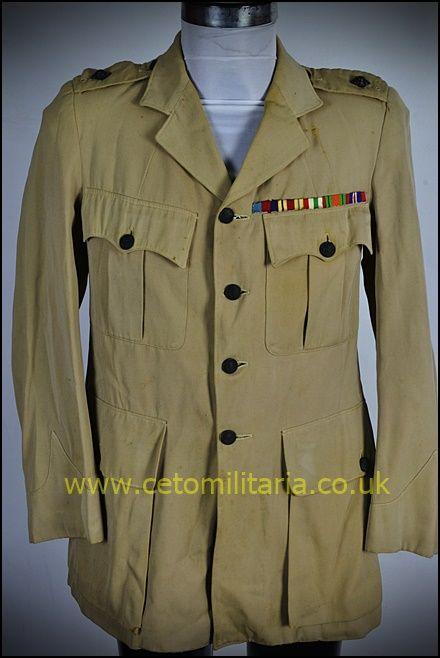 KD Shirt, WW2 Fg Off (to 44