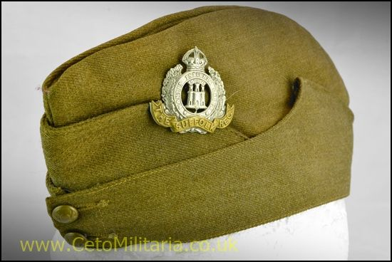 Suffulk Regt Field Service/Side Cap (55/57cm)