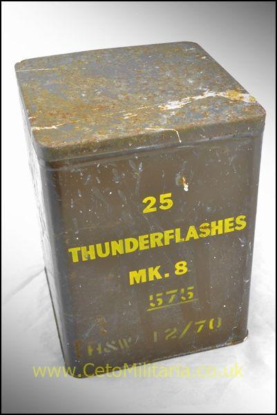 Tin, Thunderflashes, 1970