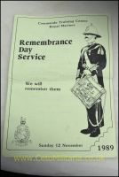 RMCTC Remembrance Day Service