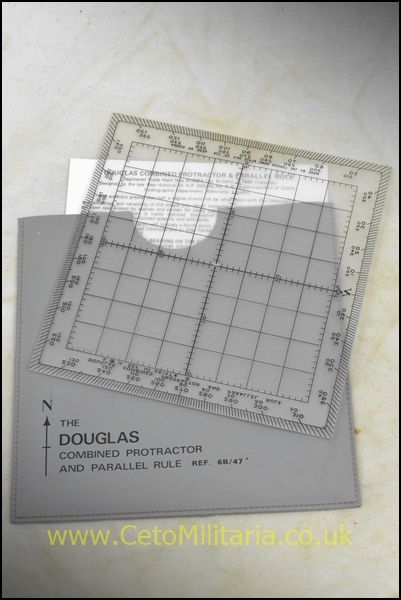 Douglas Protractor/Ruler