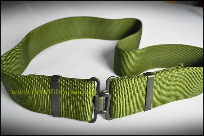 Belt - Green Webbing Working (Various)